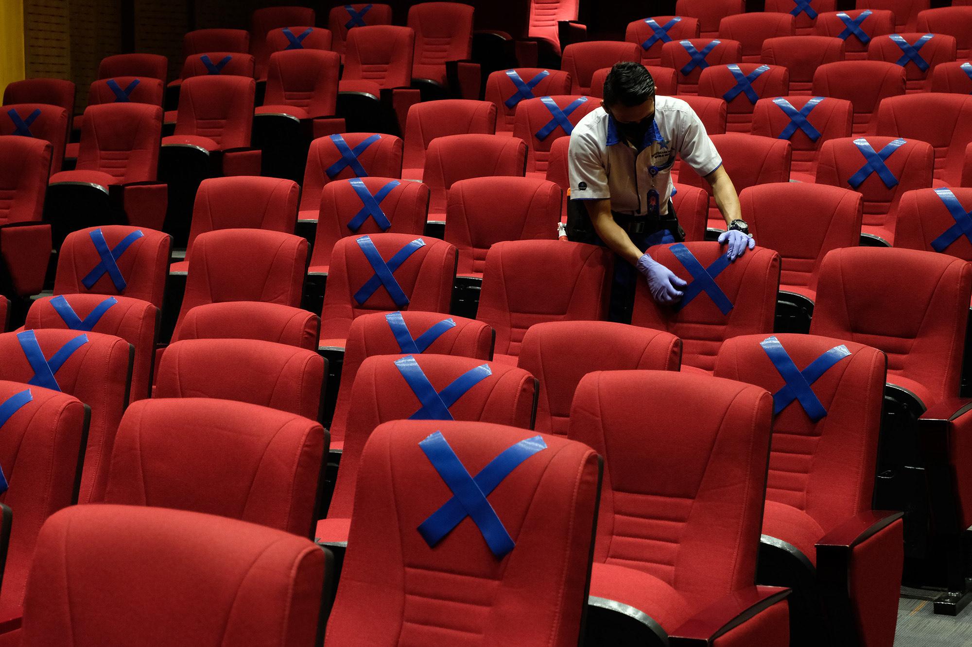 Bioskop Kembali Dibuka, Tetap Utamakan Protokol